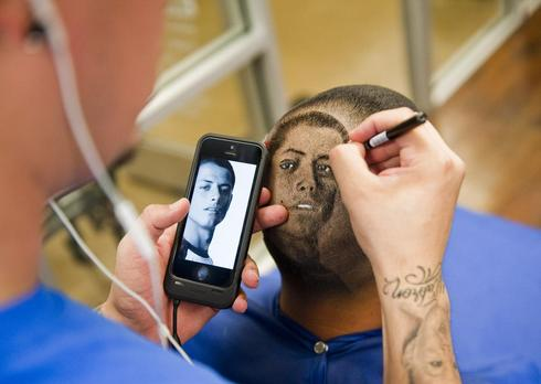 World Cup barber