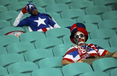Cheering USA
