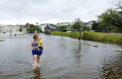 Arthur, no longer a hurricane, pelts Maritime Canada