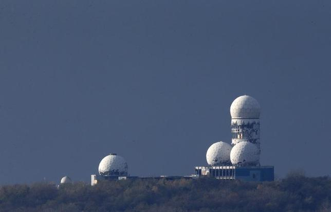 Antennas of the former National Security Agency (NSA) listening station are seen at the Teufelsberg hill, or Devil's Mountain in Berlin, November 5, 2013. REUTERS/Fabrizio Bensch/Files