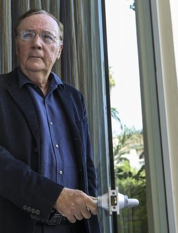 Writer James Patterson  at the Four Seasons in Los Angeles, California, October 6, 2012.  REUTERS/Bret Hartman