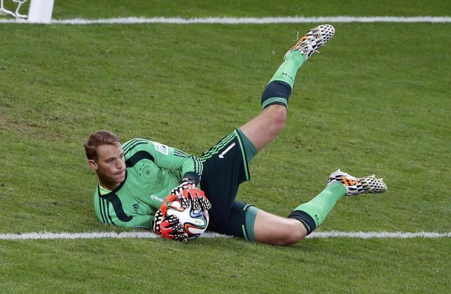 Cool Neuer sweeps all before him for indomitable Germany ...