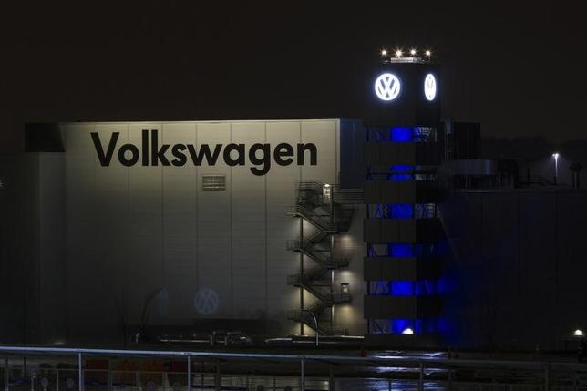 A general view of the Volkswagen plant in Chattanooga, Tennessee February 14, 2014.   REUTERS/Christopher Aluka Berry