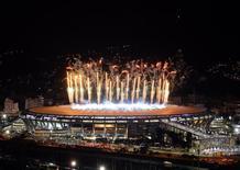 Vista do Maracanã após a final da Copa do Mundo. 13/07/2014   REUTERS/Lucas Landau