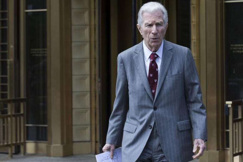 New York financial trial lawyer Daniel Pollack exits the U.S. District Court for the Southern District of New York in Lower Manhattan, June 27, 2014. REUTERS/Brendan McDermid