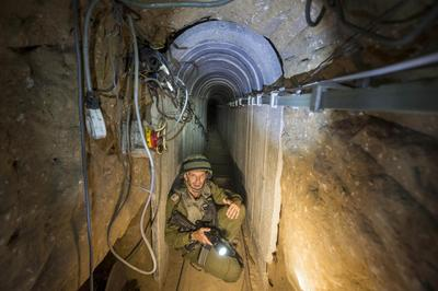 Inside the tunnels of Gaza