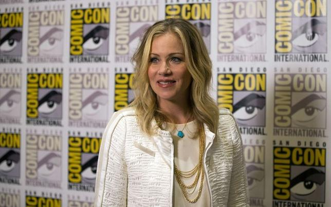 Cast member Christina Applegate poses at a press line for ''Book of Life'' during the 2014 Comic-Con International Convention in San Diego, California July 25, 2014.  REUTERS/Mario Anzuoni