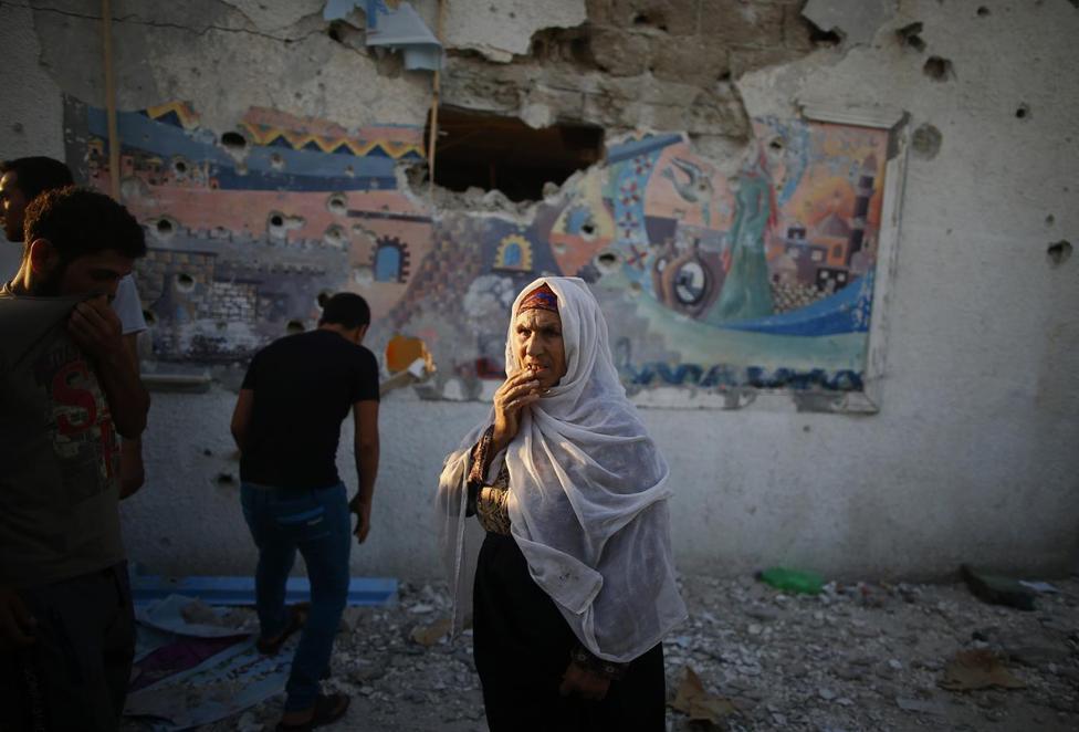 Second UN school hit