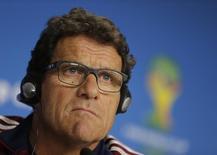 Técnico da Rússia, Fabio Capello, em entrevista coletiva durante a Copa do Mundo. 25/06/2014 REUTERS/Henry Romero