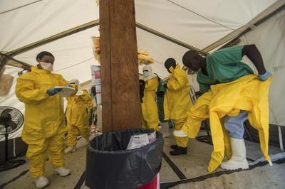 Exposure of health workers weakens Africa's Ebola...