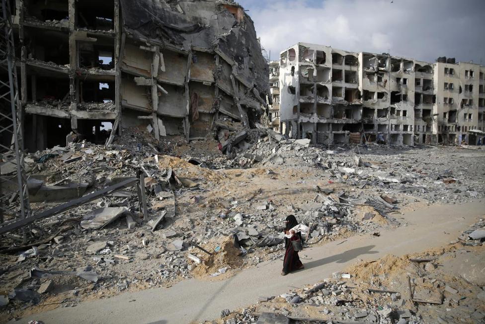 Gaza in ruins