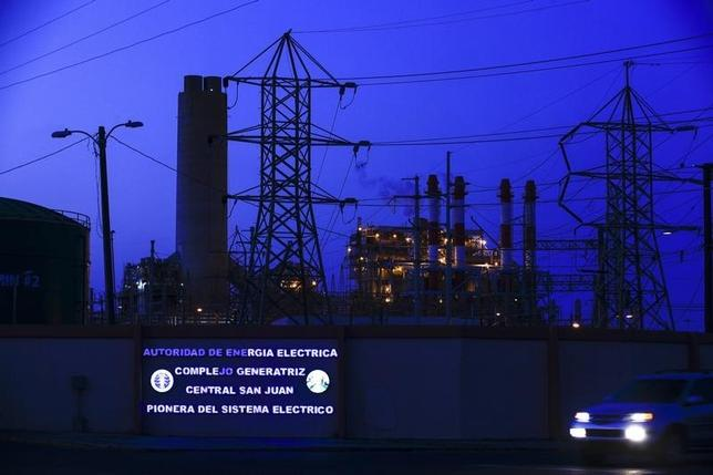 A general view of a power station of Puerto Rico Electric Power Authority, a public utility, in San Juan March 24, 2014.   REUTERS/Ana Martinez