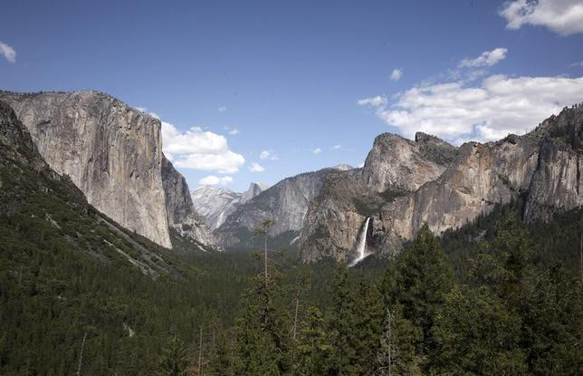 8月19日、米カリフォルニア州のヨセミテ国立公園で、ベテラン登山家が、ガールフレンドにプロポーズした日に滑落死する悲劇が起きたことが明らかに。写真は同国立公園。2009年5月撮影(2014年 ロイター/Robert Galbraith)