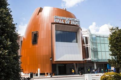 History meets modern at revamped College Football Hall...