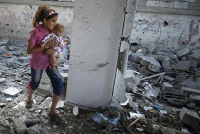 Israeli air strikes kill two Palestinians, 20 wounded ...