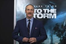 """Ator Matt Walsh na première de """"No Olho do Tornado"""" em Nova York. 04/08/2014 REUTERS/Eduardo Munoz"""