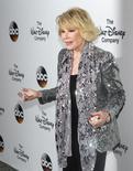 Joan Rivers na chegada de evento em Nova York, em 14 de maio de 2014.   REUTERS/Carlo Allegri
