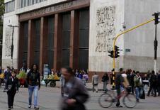 El Banco Central de Colombia en Bogotá, ago 20 2014. El saldo de la deuda externa pública de Colombia subió un 22,3 por ciento interanual a junio a 56.561 millones de dólares, informó el jueves el Banco Central, sin explicar las causas del aumento. REUTERS/John Vizcaino