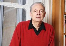 French writer Patrick Modiano in an undated photo.     REUTERS/Catherine Helie/Gallimard