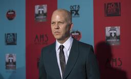 "Co-creator and executive producer Ryan Murphy poses at the premiere of ""American Horror Story: Freak Show"" in Hollywood, California, in this file photo taken October 5, 2014. REUTERS/Mario Anzuoni/Files"