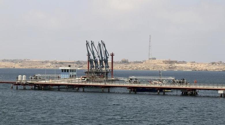 A general view of Libya's Hariga port in Tobruk, east of Benghazi June 28, 2014. REUTERS/Stringer