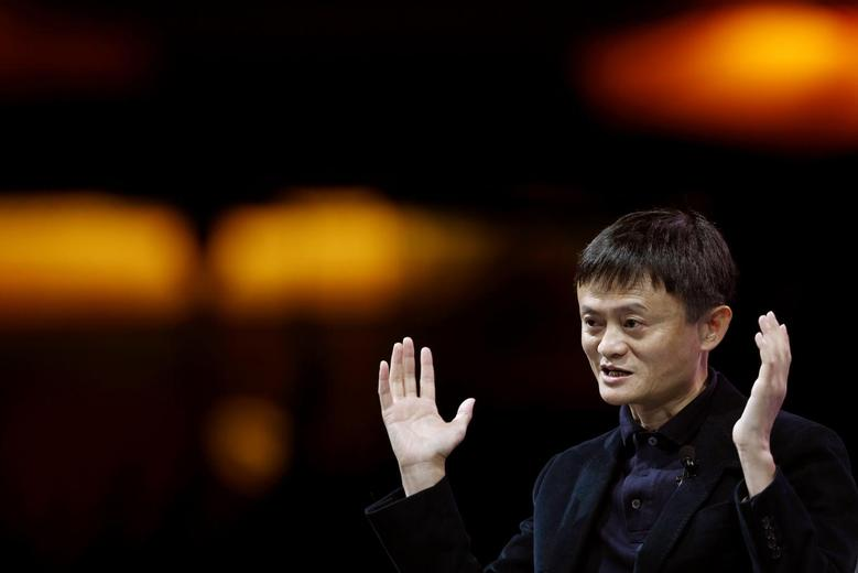Jack Ma, Executive Chairman of Alibaba Group, speaks at the WSJD Live conference in Laguna Beach, California October 27, 2014.  REUTERS/Lucy Nicholson