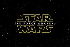 The title screen from Star Wars The Force Awakens. REUTERS/Walt Disney Studios