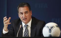 Michael J. Garcia, Chairman of the investigatory chamber of the FIFA Ethics Committee attends a news conference at the at the Home of FIFA in Zurich in this file photo taken July 27, 2012 REUTERS/Michael Buholzer
