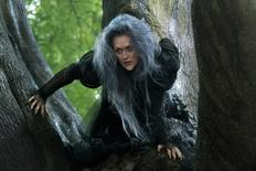 "Meryl Streep stars as the Witch in this still from ""Into the Woods"". REUTERS/Disney Enterprises/Peter Mountain/Handout"