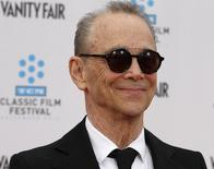 "Cast member Joel Grey poses as he arrives at the world premiere of the 40th anniversary restoration of the film ""Cabaret"" during the opening night gala of the 2012 TCM Classic Film Festival in Hollywood, California  April 12, 2012.   REUTERS/Fred Prouser"