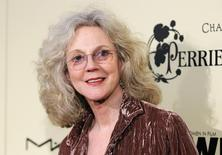 Actress Blythe Danner poses at the Women In Film pre-Oscar cocktail party at Cecconi's in West Hollywood, California February 24, 2012. REUTERS/Danny Moloshok
