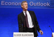 Economista-chefe do FMI,  Olivier Blanchard 8/10/ 2013. REUTERS/Mike Theiler