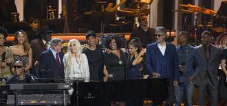 Show em homenagem a Stevie Wonder em Los Angeles. 10/02/2015  REUTERS/Mario Anzuoni
