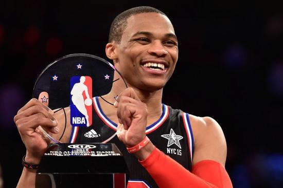 NBA=オールスター戦は西が勝利、ウエストブルックがMVP