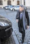 Diretor Roman Polanski deixa coletiva de imprensa em Krakow. 15/01/2015 REUTERS/Michal Lepecki/Agencja Gazeta