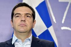 Primeiro-ministro da Grécia, Alexis Tsipras, durante encontro em Bruxelas.  17/03/2015   REUTERS/Eric Vidal