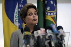 Presidente Dilma Rousseff. 16/3/2015 REUTERS/Ueslei Marcelino
