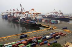 Porto em Manila, capital de Filipinas.   20/08/2014   REUTERS/Romeo Ranoco