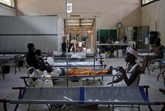 Cholera spikes in Haiti