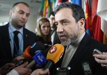 Vice-ministro das Relações Exteriores do Irã, Abbas Araqchi, em foto de arquivo. REUTERS/Heinz-Peter Bader