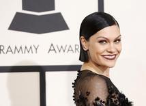 Jessie J durante cerimônia do Grammy em Los Angeles. 08/02/2015.  REUTERS/Mario Anzuoni