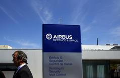 Fernando Alonso, head of Airbus flight testing and operations, attends a news conference at an Airbus assembly plant in the Andalusian capital of Seville May 11, 2015. REUTERS/Marcelo del Pozo
