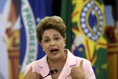 Presidente Dilma Rousseff, em foto de arquivo no Palácio do Planalto. 06/05/2015 REUTERS/Ueslei Marcelino