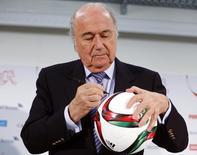 Presidente da Fifa, Joseph Blatter. 27/03/2015 REUTERS/Arnd Wiegmann