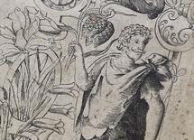 """Imagem de Shakespeare em primeira edição de """"The Herball"""" vista em Londres. 19/5/2015.  REUTERS/Toby Melville"""
