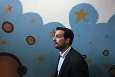 Porta-voz do governo grego, Gabriel Sakellaridis, em Atenas.  25/05/2014      REUTERS/Alkis Konstantinidis