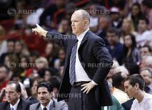 Scott Skiles in Miami, Florida January 22, 2012. REUTERS/Andrew Innerarity