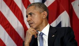 Presidente dos Estados Unidos, Barack Obama, em foto de arquivo.  07/06/2015   REUTERS/Kevin Lamarque