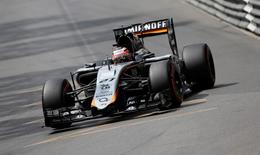 Nico Hulkenberg of Force India during practice before qualifying. Monaco Grand Prix 2015 - Circuit de Monaco, Monte Carlo - 23/5/15. Reuters / Max Rossi
