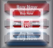 Ilustración fotográfica de una pantalla de monitor con botones de ventas, en Viena, 27 de noviembre de 2013. Autoridades italianas cerraron 410 sitios de internet que vendían falsificaciones de productos de lujo como bolsos de Prada y relojes Patek Philippe, y lanzaron redadas contra los falsificadores en todo el país, dijo el viernes la policía financiera. REUTERS/Heinz-Peter Bader